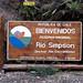 Cartello della Reserva Nacional Rio Simpson