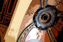 Beaux Arts detail (Ed Brodzinsky) Tags: newyorkcity newyork architecture photoshop manhattan library libraries marble stairways beauxarts ceilingdetail 42ndstreetlibrary edbrodzinsky carrerehastingsarchitects