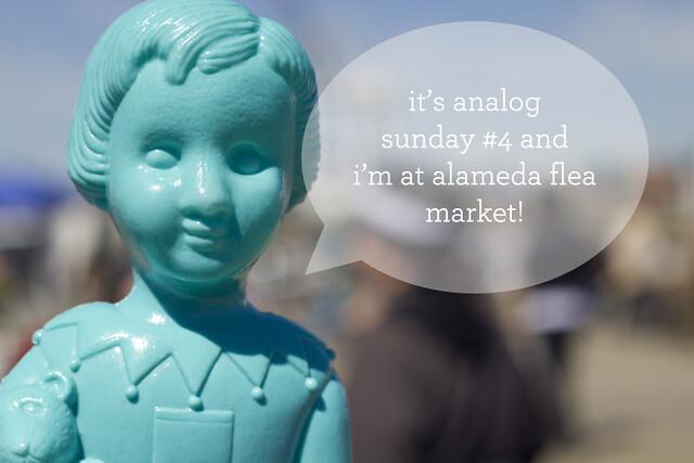 chloë at alameda flea market