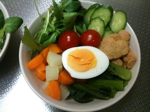 朝食サラダ(2011/4/9)