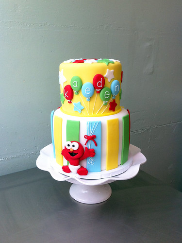 Baby Elmo Cake for Kaeden