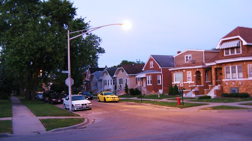 Early morning dawn in Elmwood Park Illinois. June 2010. by Eddie from Chicago