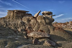Battleship Hoodoo (Ken'sKam) Tags: newmexico nature desert hoodoo badlands geology bistibadlands westernusa southwesternusa