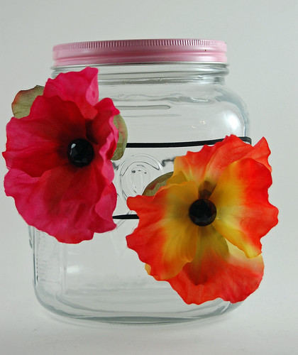 Poppy Flower Headbands