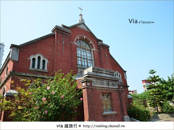 【台中景點】柳原教堂~百年歷史風華教堂,新人婚拍最愛!2