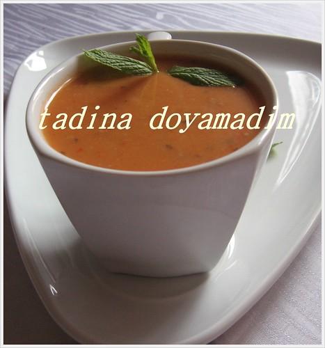 domatesli enginar çorbası