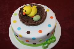 Baby Shower Cake (irresistibledesserts) Tags: