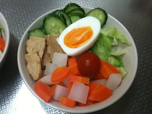 朝食サラダ(2011/4/12)