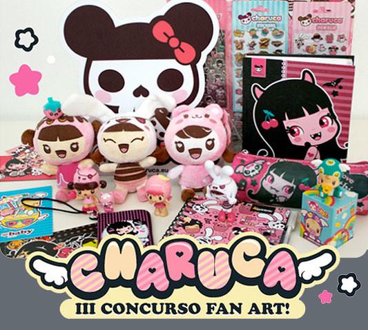 III CONCURSO CHARUCA FAN ART. Gana este set de productos
