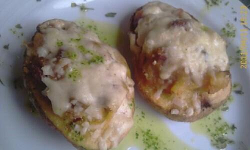 Hoy he comido Patatas Rellenes de Verduras por Mikaela by LaVisitaComunicacion