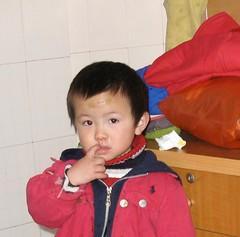 Chine:province du Guizhou,les enfants!