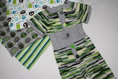 Hootie Who Romper Collab with Rhino Knits