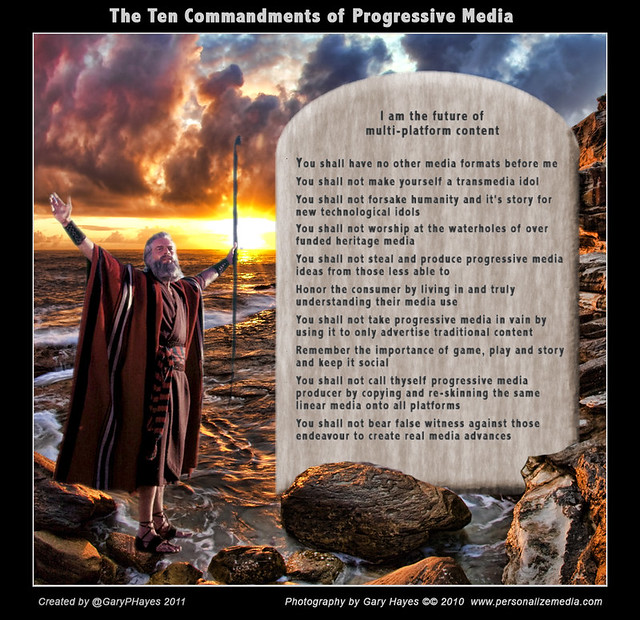 Ten Commandments Progressive Media