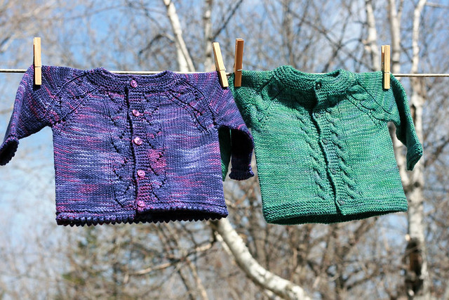 Top Down Baby Sweater Knitting Patterns Easier To Adjust Fit And Size