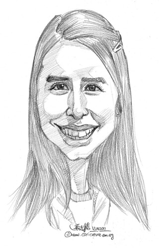 caricature in pencil - 50