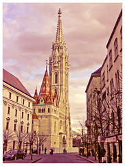 Mtys templom (Babreka) Tags: winter church hungary minolta budapest kirche matthias konica templom mtys budavri nagyboldogasszonytemplom
