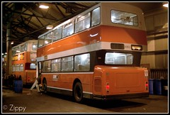 Bath Time. (Zippy's Revenge) Tags: bus transport depot leyland fleetline atherton lut greatermanchester 4963 gmbuses howebridge northerncounties gmn lancashireunited gmbusesnorth fe30agr bcb616v