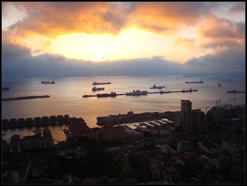 Anochecer Gibraltar (4)