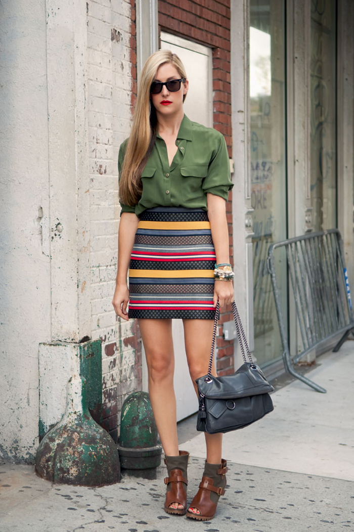 {Street Style} Military Chic