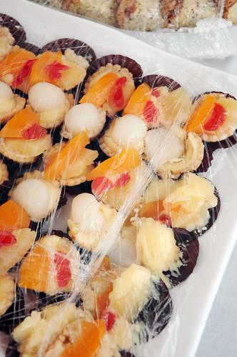 Smiling Orchid - Mini Fruit Tartlets