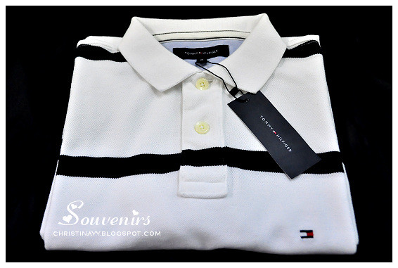 For Family With Love: Tommy Hilfiger Striped Polo Tee