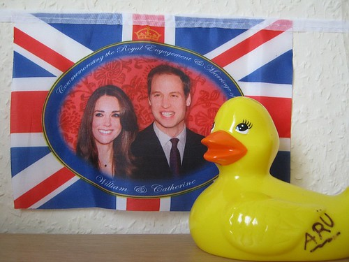 Ducky wishes she could have gone to the Royal Wedding.