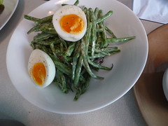 Haricots verts at Le Bal