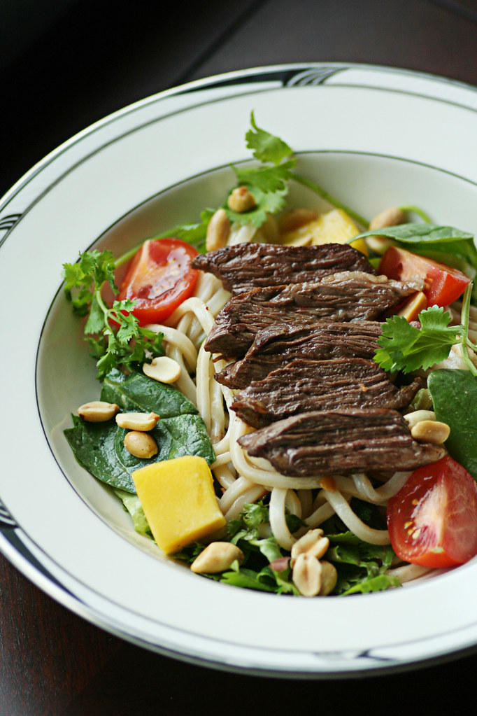 thai steak salad!!