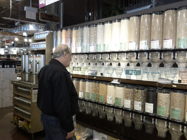 My Dad In The Dry Goods Aisle at Whole Foods