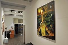 Galeria Siboney - José Luis Serzo - Entrada de la galeria - Fotografía realizada por Rafael G. Riancho
