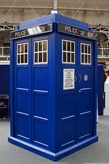 Kapow! Comic Con : Dr Who's Tardis by Craig Grobler