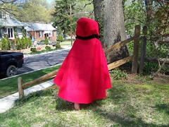 Q5 as Little Red Riding Hood Back