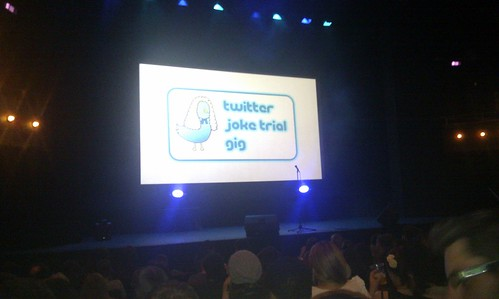Twitter Joke Trail Gig