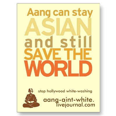 Aang Can Stay Asian and Still Save the World