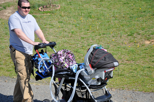 playground with stroller