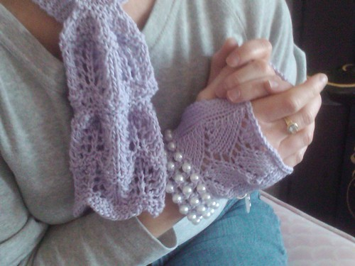 Scarf & glove set