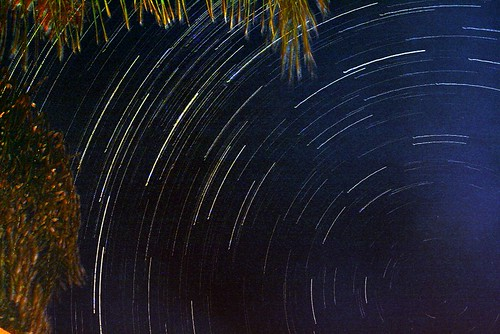 Windhoek Star Trail by Namibnat