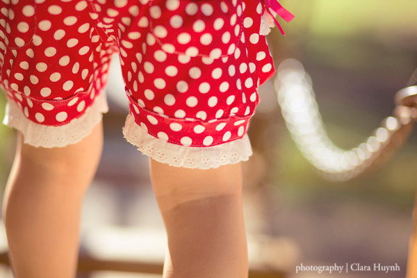 April 23 - Spotty Dotty Shorts