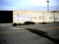 too bad... (Colonel_Custard) Tags: graffiti oakland bay bad area too nasty btm cruks kruks