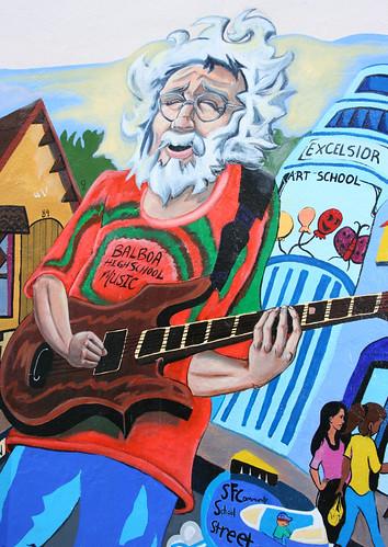 Jerry Garcia mural