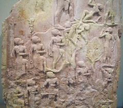 Victory Stele of Naram-Sin with detail of middle register