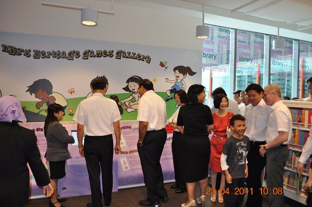 Clementi Library Opening
