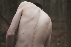 (kaitlin.molchen) Tags: blue portraits skinny back skin bones kennethbauer kaitlinmolchenphotography