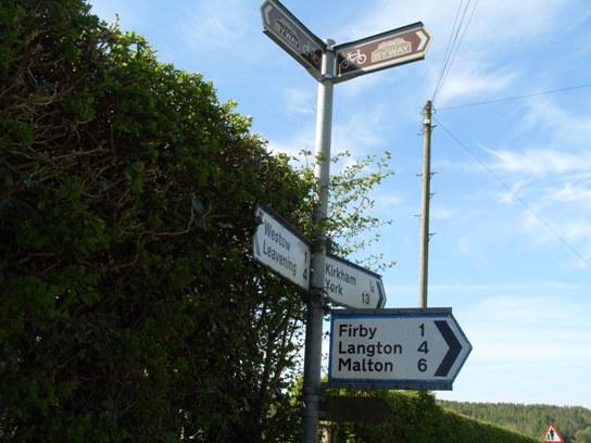 The signpost at Kirkham