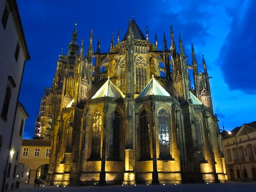 St. Vitus Cathedral, after Sunset