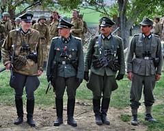 Ořechov 1945 (The Adventurous Eye) Tags: world red two germany army war wwii ss ww2 czechrepublic 1945 reenactment reenactors wehrmacht 2011 rudá armáda ořechov ořechov1945