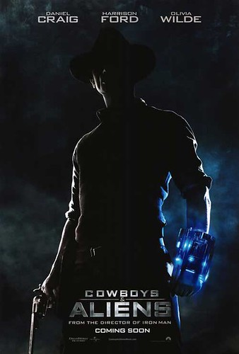 [ COWBOYS AND ALIENS Poster ] [Click on image to enlarge]