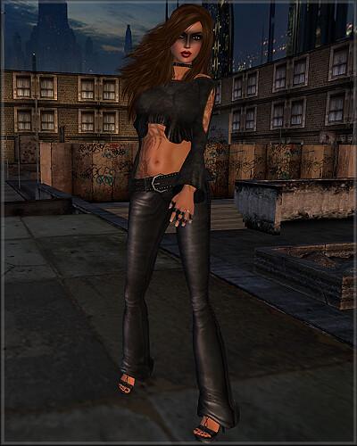 Lolita Oleander Dark City