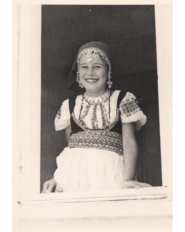 my mother, when she was little