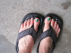 green toes today